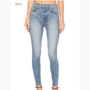 GRLFRND Kendall super stretch Heart of glass jeans